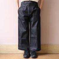 STUDIO NICHOLSON スタジオニコルソン SELVEDGE DENIM SUEDE-HEAD SLACK INDIGO【SNM-029】(N)