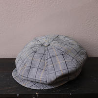 SOLARIS HATMAKERS & Co. CLASSIC CASQUETTE OLDBOY HOUNDSTOOTH【20SS01008】(N)