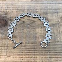 Vintage Sterling Silver Mexican Bracelet【F096】(N)