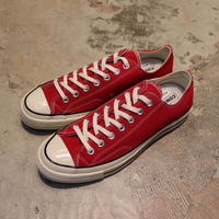 CONVERSE コンバース CHUCK TAYLOR ALL STAR '70-OX  ENAMEL RED/EGRET/BLACK 164949C CT70