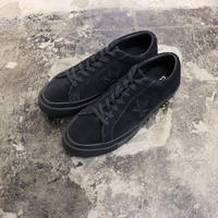 CONVERSE コンバース ONE STAR OX  BLACK/BLACK/BLACK 162950C ワンスター(N)