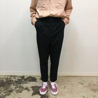 UNITUS(ユナイタス) SS18 Peg Top Pants Black【UTSSS18-P05】