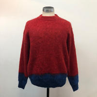 UNITUS(ユナイタス) FW17 Mohair Crew Red【UTSFW17-CS01】