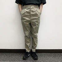 UNITUS(ユナイタス) SS17 Peg top Pants with side zip Olive【UTSSS17-P02】