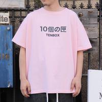 TEN BOX テンボックス 10個の匣 Tee Pink(N)