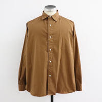 UNITUS(ユナイタス) FW19 Handy Big Shirt Camel【UTSFW19-S04】(N)