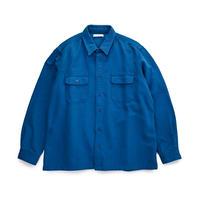SANSE SANSE neru shirt BLUE【SUN-SH008】(N)