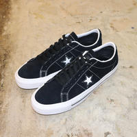 CONVERSE CONS ONE STAR PRO OX 159579C  BLACK/WHITE/WHITE (N)