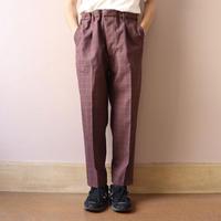 UNITUS(ユナイタス) FW19 Easy Dress Pant Plaid Check【UTSFW19-P02】(N)