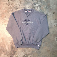 【PIGU HOUSE  VINTAGE】RUSSELL ATHLETIC NYヤンキース スウェット【No,76】