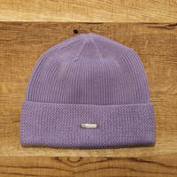 SOLARIS HATMAKERS & Co.  COTTON WATCH CAP HUNTER/PURPLE【SH19SS-01】(N)