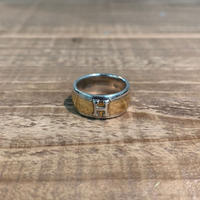 Hermès Vintage(エルメス ヴィンテージ) Sterling Silver & 18k Gold Ring 【VH02】(N)