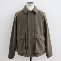 UNITUS(ユナイタス) FW19 Wading Jacket (Wool) Brown【UTSFW19-J07】
