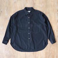UNITUS(ユナイタス) Stiched Work Shirt Navy【UTSFW20-S02】(N)