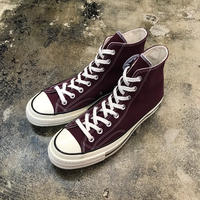 CONVERSE  コンバース  CHUCK TAYLOR ALL STAR '70-HI DARK BURGUNDY/BLACK/EGRET 162051C  CT70 (N)