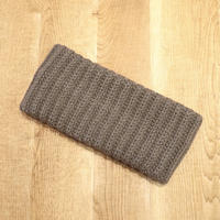 CREPUSCULE クレプスキュール  neck warmer Brown【1903-014】