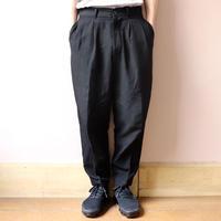 UNITUS(ユナイタス) SS20 Cropped Pants Black【UTSSS20-P01】(N)
