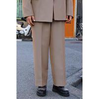 UNITUS(ユナイタス) Classic Wide Pants Beige【UTSFW20-P03】(N)