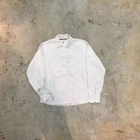 【PIGU HOUSE  VINTAGE】コードシャツ LEE WHITE  【No,107】
