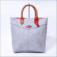LEON FLAM(レオンフラム) SANTIAGO SHOPPING BAG GREY