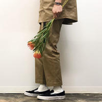 SEE SEE  WORK PANTS BEIGE STUDY SHOWROOM STORE 限定カラー