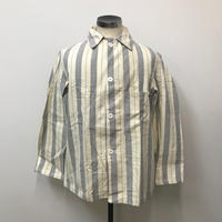 1970s British Prisoner stripe Shirts Jacket【 V-1】Vintage(N)