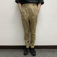 UNITUS(ユナイタス) SS16 PEG TOP PANTS OLIVE【UTS16SS-P01】