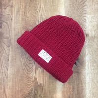 Seams Knit Beanies Red