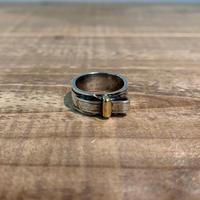 Hermès Vintage(エルメス ヴィンテージ) Sterling Silver & 18k Gold Ring 【VH03】(N)