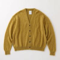 S.F.C MOHAIR CARDIGAN Mustard【SFCFW21KN01】(N)