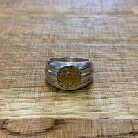 Hermès Vintage(エルメス ヴィンテージ)Stering Silver & 18k Gold Ring【VH09】(N)