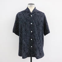 SOWBOW  SBSH01S-5B  蒼氓シャツA  ONE PIECE COLLAR SHIRT S/S NAVY SIJIRA(N)