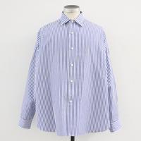 UNITUS(ユナイタス) SS20 Dolman Sleeve Shirt White × Blue【UTSSS20-S07】(N)