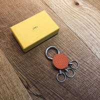 ITTI-GOODS-004-A CRISTY KEY RING /shrunken Orange(N)
