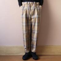 UNITUS(ユナイタス) SS20 Easy Dress Pants (Plaid Check) Brown × Blue【UTSSS20-P05】(N)