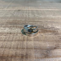 Hermès Vintage(エルメス ヴィンテージ) Sterling Silver & 18k Gold Ring【VH11】(N)