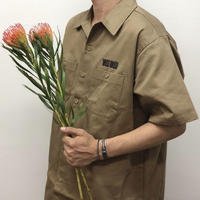 SEE SEE  BIG WORK SHIRT BEIGE STUDY SHOWROOM STORE 限定カラー