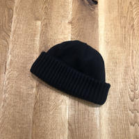 CREPUSCULE クレプスキュール  knit cap Black【1903-012】(N)