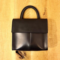 LEON FLAM FEMME(レオンフラム)LEATHER  BAG  VOLTIGE NAVY(N)