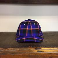 UNITUS(ユナイタス) FW18 Maasai Check Cap  Blue Check【UTSFW18-A02】(N)