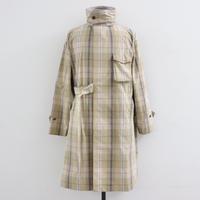 UNITUS(ユナイタス) SS20 Medical Gawn Coat Plaid Check Beige × Orange【UTSSS20-J02】(N)