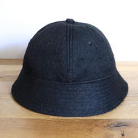 SOLARIS HATMAKERS & Co. BUCKET HAT BADBOY BLACK【19AW01005】(N)