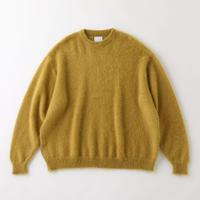 S.F.C  MOHAIR CREW NECK Mustard【SFCFW21KN02】(N)