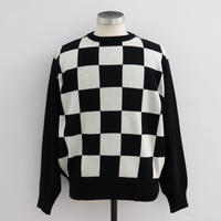 SOLARIS&Co.(ソラリスアンドコー) CHECKER KNIT CHECKER【19AW02010】