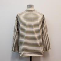 UNITUS(ユナイタス) SS19 Military Border T Shirt Beige【UTSSS19-CS01】