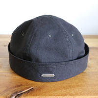 SOLARIS HATMAKERS & Co. KIPPA MONTANA BLACK【SH19SS-09】(N)