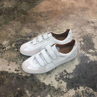 REPRODUCTION OF FOUND(リプロダクションオブファウンド) 1703L/GERMAN MILITARY TRAINER-VELCRO WHITE(N)