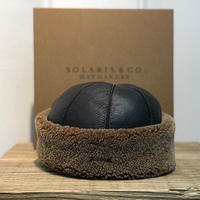 SOLARIS HATMAKERS & Co.  MOUTON CAP ''SPITFIRE''【SH18AW-12】(N)