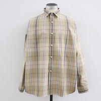 UNITUS(ユナイタス) SS20 Dolman Sleeve Shirt Beige × Orange【UTSSS20-S08】(N)