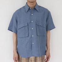 UNITUS(ユナイタス) SS20 P&F Half Sleeve Shirt Sax【UTSSS20-S09】(N)
